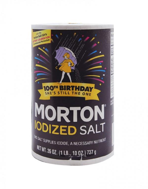 Morton 含碘食盐 26oz-0
