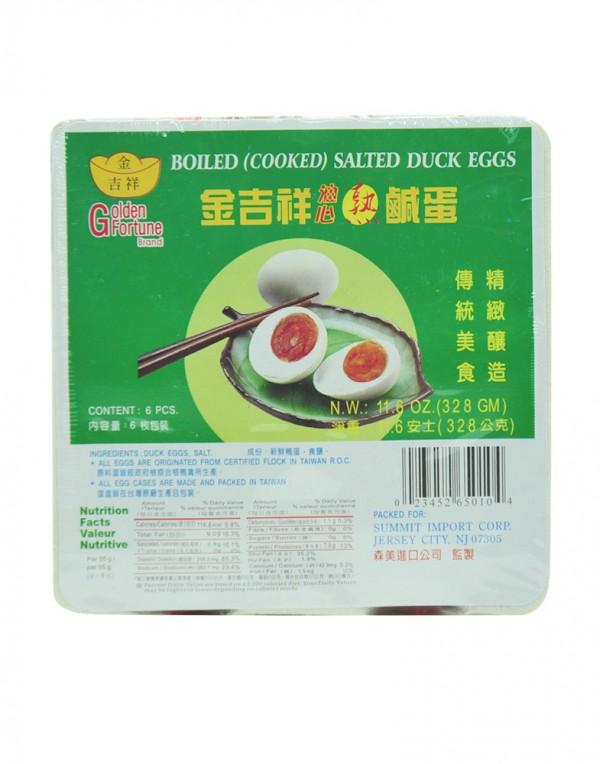 台湾 金吉祥 油心熟咸蛋 11.6oz-0