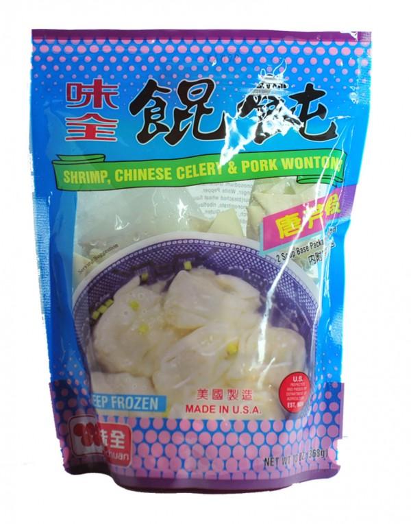 台湾 味全 唐芹虾馄饨(云吞)14oz-9945