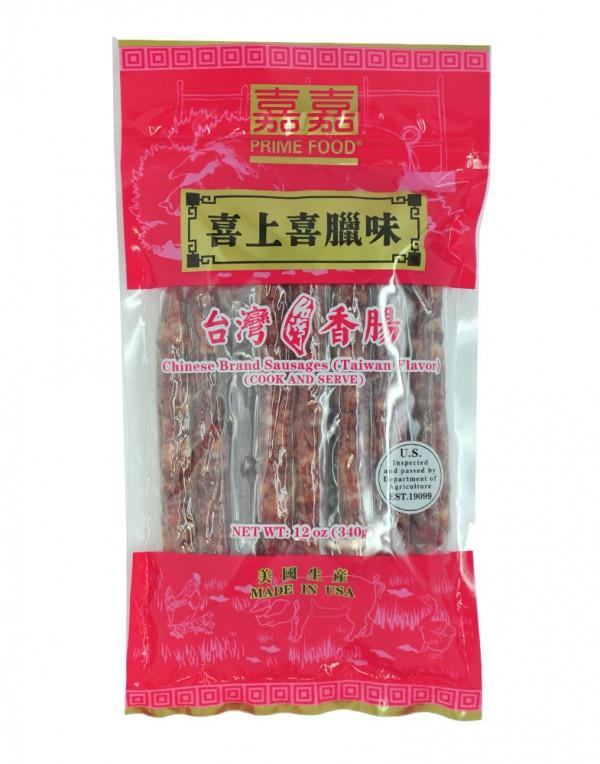 美国 喜上喜 台湾香肠 12oz-0