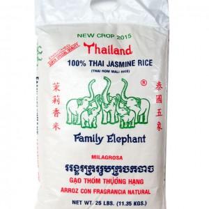 泰国 五象牌 茉莉香米 25lbs-0