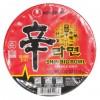 韩国方便面Nongshim 红色拉面杯泡面 114g-0