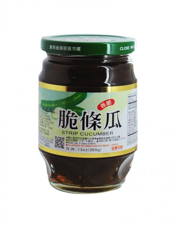 台湾 华南牌 脆条瓜 (香脆) 369g-0