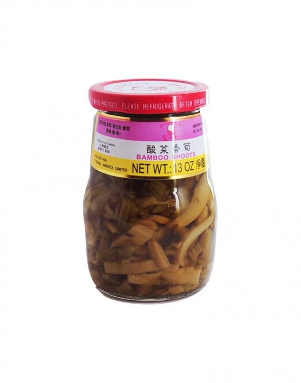 金之味 酸菜香笋 370g-0