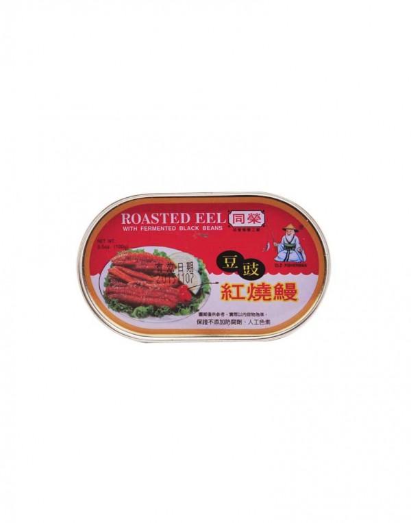 台湾 同荣 豆豉红烧鳗 100g-0