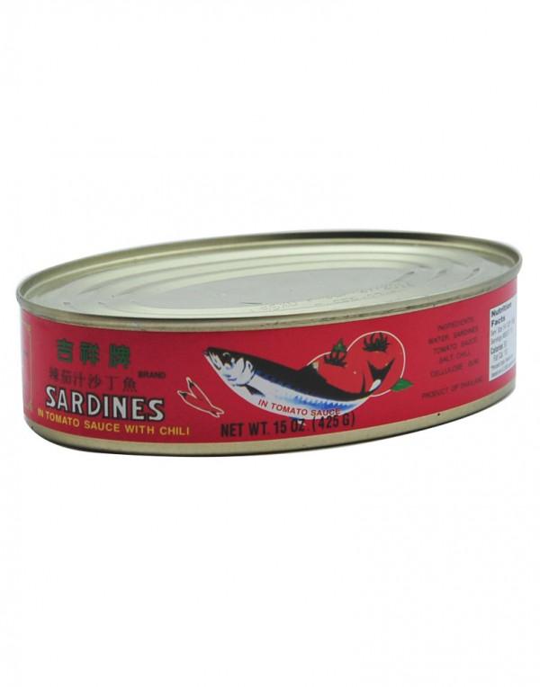 吉祥牌 辣茄汁沙丁鱼 425g-0