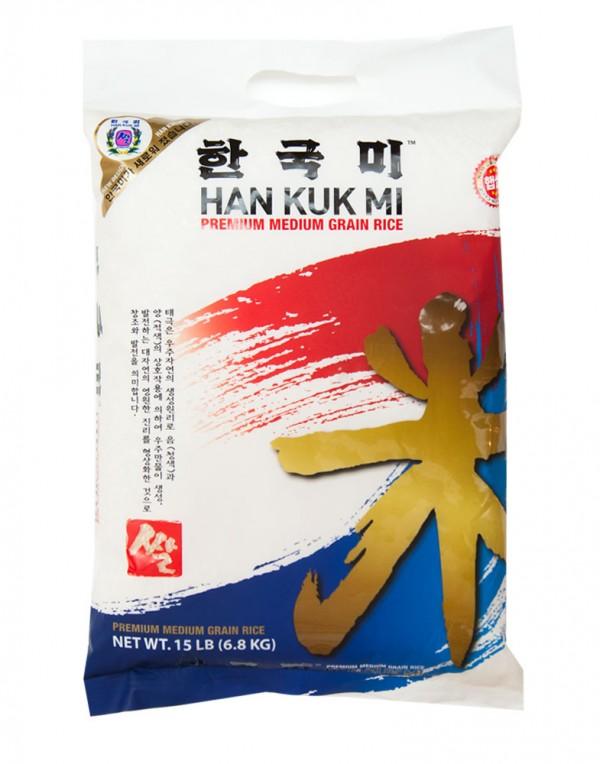 韩国Han Kuk Mi 糙米 15lbs-11106