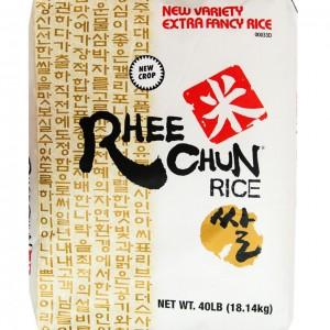 韩国Rhee Chun 新品种米 40lbs-0