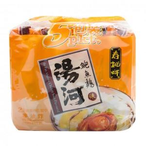 寿桃牌 鲍鱼鸡味汤河(5袋装)75g x 5-0
