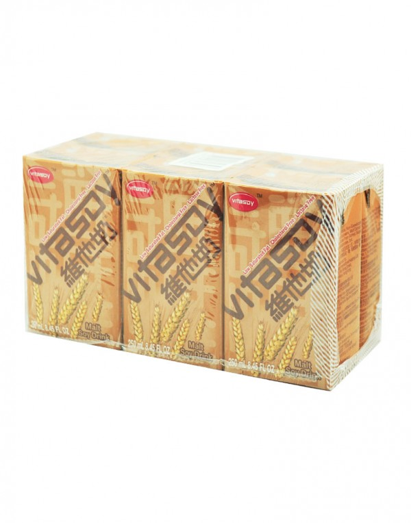 维他 麦精豆浆 250ml x 6-0