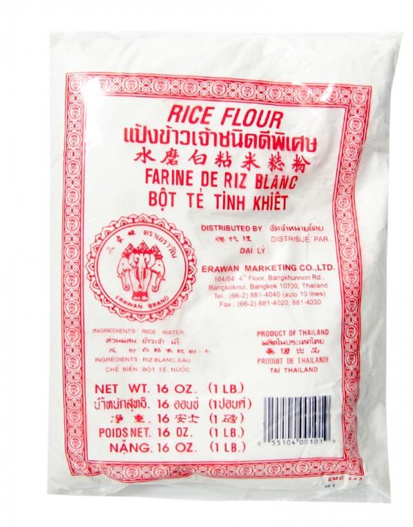 三象牌 水磨白粘米淀粉(红袋) 1lb-0