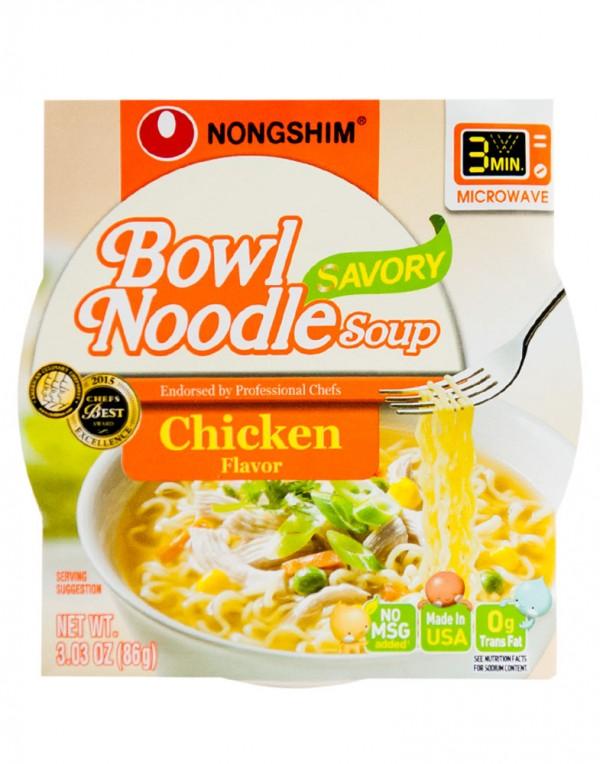 韩国方便面Nongshim 鸡肉中杯泡面 86g-0