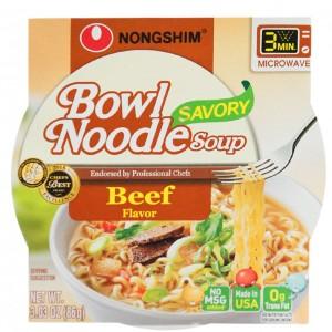 韩国方便面 Nongshim 牛肉中杯泡面 86g-0