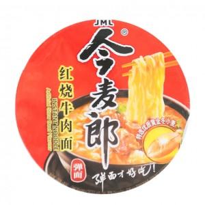 中国今麦郎 红烧牛肉杯面 92g-0