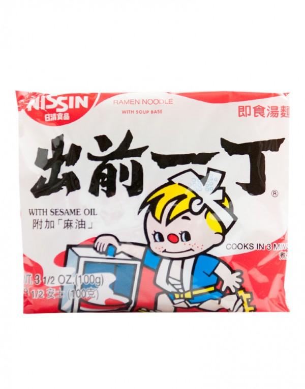 日本日清Nissin 出前一丁 即食汤面 (袋装)100g-0