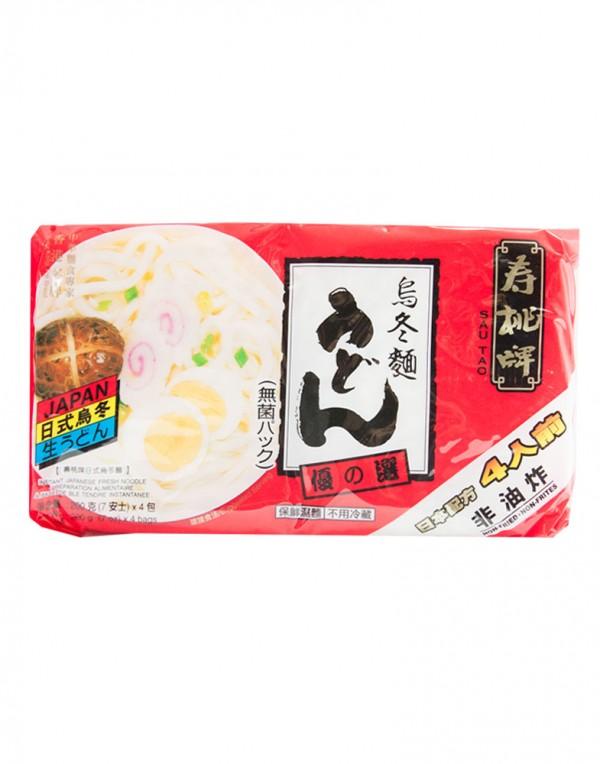 中国寿桃牌 日本乌龙面 200g-0