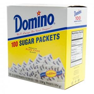 美国 Domino 白砂糖 0.125oz x 100-0