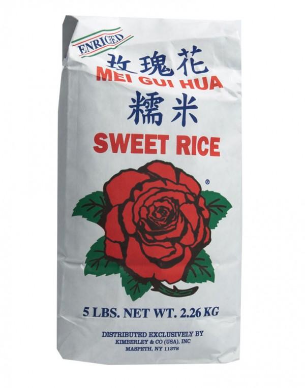 玫瑰花牌 糯米 5lbs-0