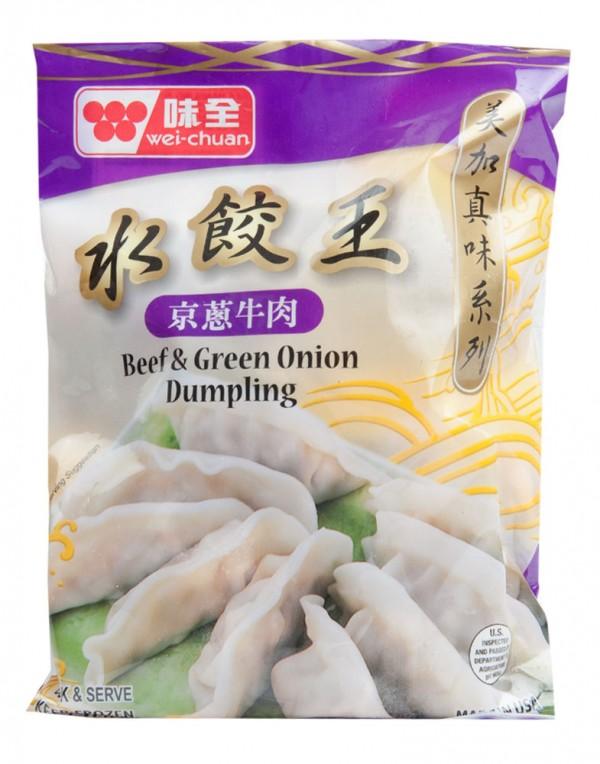 台湾 味全 京葱牛肉水饺王 21oz-0