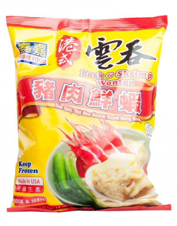 美国 嘉嘉 港式猪肉鲜虾云吞 20oz-0