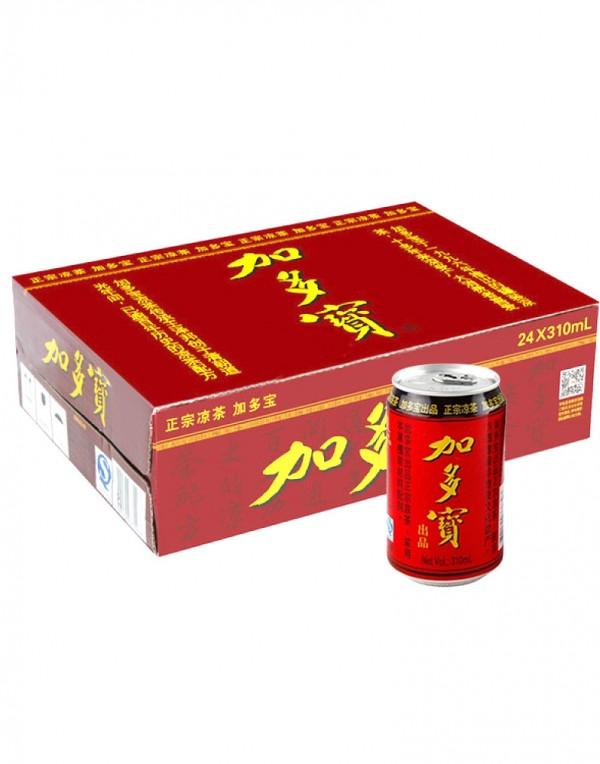 加多宝 凉茶饮料(红罐整箱)310ml x 24-0
