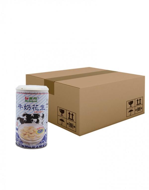 台湾 绿得 牛奶花生(整箱)320g x 24-0