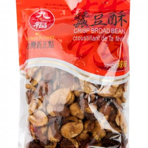 九福 蚕豆酥 辣味 5.6oz-0