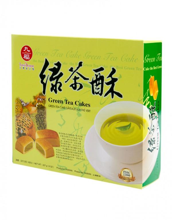 九福 绿茶酥 8oz-0
