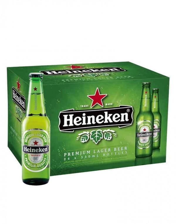 Heineken 喜力啤酒(整箱)330ml x 24-0