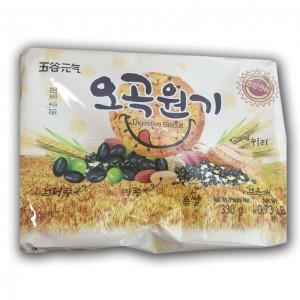 韩国 五谷元气饼干 330g-0