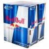 RedBull 红牛 能量饮料(4瓶装)8.4FL OZ x 4 -0