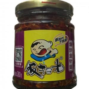 饭扫光 爆炒金针菇 280g-0