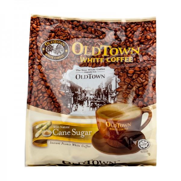 旧街场 三合一即溶白咖啡 天然蔗糖 540g-0