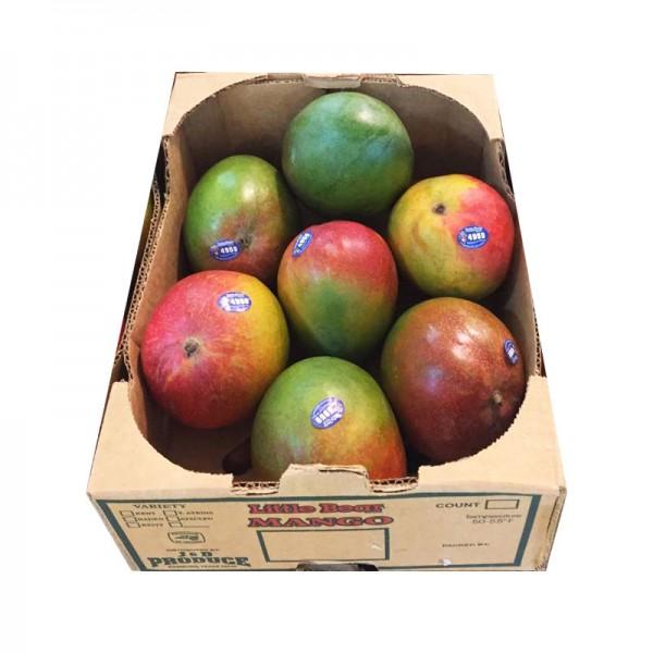 苹果芒 整箱 约7个-0