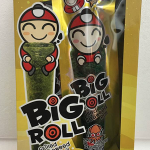Big Roll Grilled Seaweed Roll Spicy Grilled Squid 36g-0