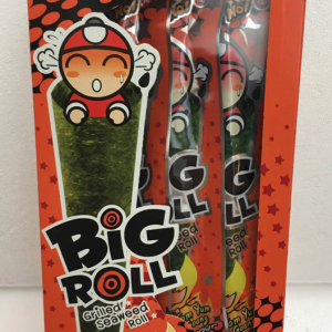 Big Roll Grilled Seaweed Roll Tom Yum Flavor 36g-0