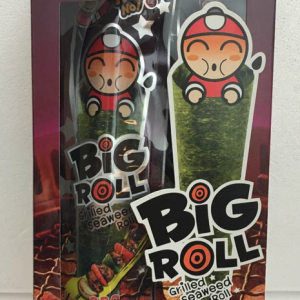 Big Roll Grilled Seaweed Roll BBQ Flavor 36g-0