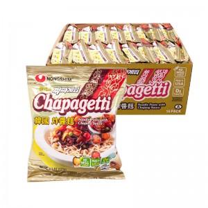 韩国方便面Nongshim Chapagetti炸酱面整箱(16袋装)127g x 16-0