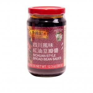 李锦记 红油豆瓣酱(四川风味)12.3oz-0