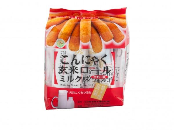 北田蒟蒻糙米卷 (牛奶口味) 5.64oz-0