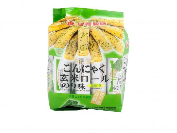 北田蒟蒻糙米卷 (海苔口味) 5.64oz-0