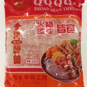 台湾合欢火锅宽条粉丝(300g)-0