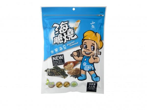 弘益 海脆燒(米果海苔味)35g-0