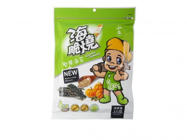 弘益 海脆燒(堅果海苔味)35g-0