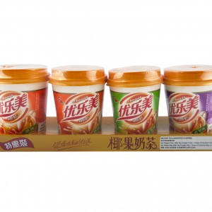 椰果奶茶(綜合味) 80gx4cup-0
