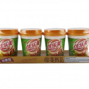 椰果奶茶(麥香味) 80gx4cup-0
