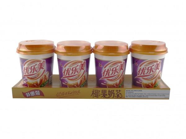 椰果奶茶(香芋味) 80gx4cup-0