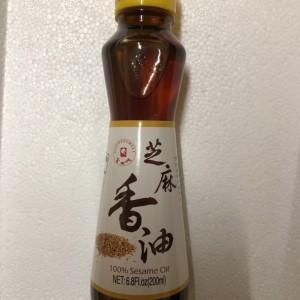 金之味 芝麻香油 200ml-0